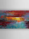 Pictat manual Abstract Orizontal,Modern Un Panou Canava Hang-pictate pictură în ulei For Pagina de decorare