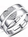 Bărbați Dame Pentru cupluri Inele Cuplu costum de bijuterii Plastic Bijuterii Pentru Nuntă Petrecere Zilnic