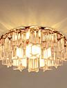 Montage du flux Lumiere d'ambiance - Cristal, LED, 220-240V Ampoule incluse / 10-15㎡
