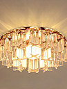 Modern/Contemporan / Tradițional/Clasic / Rustic/ Cabană / Tiffany / Vintage / Retro / Felinar / Țara Cristal / LED Cristal Montaj Flush