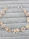 Femei Imitație de Perle Diadema-Nuntă Ocazie specială Informal Birou & carieră Exterior Cordeluțe 1 Bucată