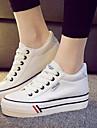 Pantofi pentru femei - Pânză - Platformă - Confortabili / Vârf Rotund - Teniși la Modă - Outdoor / Atletic - Negru / Albastru / Roșu / Alb