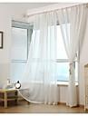 Stångficka Hyls-topp Hällor topp Dubbel veckad Två paneler Fönster Behandling Land Moderna Nyklassisistisk Medelhavet Europeisk , Tryck &