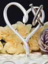 Vârfuri de Tort Temă Clasică Inimi Reșină Nuntă cu 1 Cutie de Cadouri