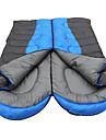 حقيبة النوم في الهواء الطلق حقيبة مستطيلة فردي أجوف القطن الدفء مكتشف الرطوبة ضغط سميك 190*75 cm إلى عن على الصيد المشي لمسافات طويلة تخييم السفر الربيع الصيف الخريف