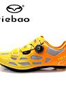 Tiebao® Homme Chaussures de Velo de Route Nylon Cyclisme / Velo Etanche, Antiderapant, Coussin PU de microfibre synthetique Orange / Vert