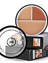 3 Concealer/kontur Fuktig Kaki Concealer Behandling av mörka ringar Anti-akne Fräknar Anti-rynk Ögon Ansikte Läppar ÖvrigtBeige Orange