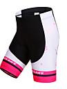 WOSAWE Dam Vadderade cykelbyxor Cykel Shorts / Vadderade shorts / Underdelar Snabb tork, Vindtät, Andningsfunktion Rand Polyester, Elastan