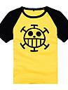 Inspire par One Piece Trafalgar Law Manga Costumes de Cosplay Cosplay T-shirt Imprime Manches Courtes Manteau Pour Masculin Feminin