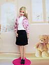 Robes Pour Poupee Barbie Robes Pour Fille de Jouets DIY