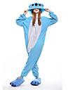 Adulto Pijamas Kigurumi Koala Pijamas de una pieza Lana Polar Azul Cosplay por Hombre y mujer Ropa de Noche de los Animales Dibujos animados Festival / Celebracion Disfraces