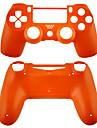 caz pentru controlerul PS4 (portocaliu / mov / roz / transparent)