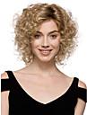 Peruki syntetyczne Curly Styl Bez czepka Peruka Blond Włosie synetyczne Damskie Peruka Krótkie StrongBeauty Peruka na Halloween