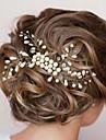 Perly Vlasy Hřebeny s 1 Svatební / Zvláštní příležitosti Přílba