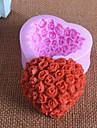 bakformen Blomma Choklad Paj Tårta Silikon Gummi Födelsedag Hög kvalitet 3D