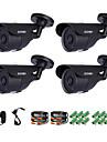 zosi® 1/3 inch 1000tvl camera de supraveghere video camera de supraveghere video pentru siguranta la domiciliu