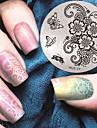 1 Nail Stamping Mall Dagligen Mode Hög kvalitet