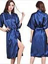 m femeie satin de matase lenjerie in pijamale pijamale chimono rochie nightdress halat lung