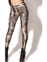 Feminin Imprimeu Legging,Polyester Mediu