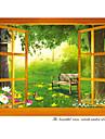 Autocolante de Perete Decorative - Autocolante perete plane Peisaj / Animale Sufragerie / Dormitor / Cameră de studiu / Birou / Detașabil