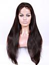 Obehandlad hår Hel-spets Spetsfront Peruk Brasilianskt hår Rak 130% 150% 180% Densitet Med Babyhår Afro-amerikansk peruk Naturlig hårlinje