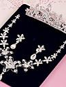 Pentru femei Ștras Nuntă Petrecere Ocazie specială Zi de Naștere Logodnă Ștras Aliaj Σκουλαρίκια Coliere Tiare