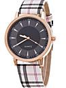 Pentru femei Quartz Ceas de Mână Ceas Casual Piele Bandă Charm Modă Khaki