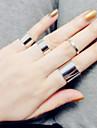 Pentru femei Band Ring / Midi Ring - Argintiu Iubire Vintage, Modă O Mărime Argintiu / Auriu Pentru Nuntă / Petrecere / Cadou
