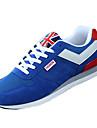 Bărbați Pantofi PU Primăvară / Vară / Toamnă Confortabili Adidași Alergare Albastru Închis / Rosu / Albastru