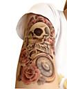 Non Toxic / С рисунком / Halloween Временные татуировки Тату с цветами Halloween / Большой размер Искусство тела рука