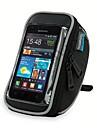 ROSWHEEL Sacoche de Guidon de Velo Sac de telephone portable 5.5 pouce Zip etanche Vestimentaire Resistant a l\'humidite Resistant aux
