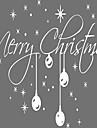 Crăciun / Cuvinte & Citate / Vacanță Perete Postituri Autocolante perete plane Autocolante de Perete Decorative,vinyl MaterialDetașabil /