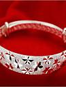 Pentru femei Brățări Bangle - Plastic Modă Brățări Argintiu Pentru Cadouri de Crăciun