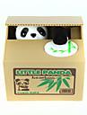 Pușculițe Itazura Puşculiţă Fură Banca Monedei Salvarea casetei de bani Cazul Piggy Bank Jucarii Drăguț Electric Pătrat Panda Plastic