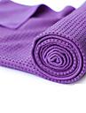 Yoga Towel Odor Free Eco-friendly Non-Slip Microfiber for Yoga Pilates Bikram 180.0*60.0*0.5 cm Purple Green Blue
