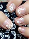 30 pcs Classic / Pastel Nail Jewelry Nail Art Design Lovely Daily / Plastic