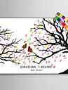 e-home® amprente digitale personalizate pictura panza printuri -butterfly pe o ramură (include 12 fcolors de cerneală)
