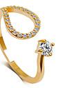 Pentru femei Band Ring / Inel de declarație - Prinţesă Clasic, Modă 6 / 7 / 8 Argintiu / Auriu Pentru Nuntă / Petrecere / Party / Seara
