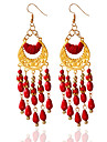 Women\'s Earrings Tassel Jewelry Black / Red / Blue For Wedding