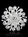 Dame Broșe La modă costum de bijuterii Ștras Bijuterii Pentru Petrecere Ocazie specială Zi de Naștere Zilnic