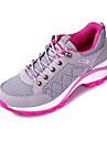 Pentru femei Pantofi Tul Primăvară / Toamnă Confortabili Adidași Alergare Toc Drept Gri / Mov / Fucsia