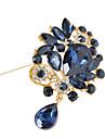 femei brosa de flori de cristal pentru decorare petrecere de nunta eșarfă, bijuterii fine