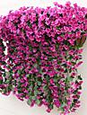 Flori artificiale 2 ramură Stil modern Violet Flori Perete