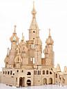 3D-puzzels Legpuzzel Houten puzzels Kasteel Beroemd gebouw DHZ Simulatie Puinen 1 pcs Kinderen Volwassenen Jongens Meisjes Speeltjes Geschenk / Houten modellen