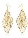 Pentru femei Franjuri / Lung Cercei - Leaf Shape Ciucure, Boem, Modă Auriu Pentru Zilnic / Casual