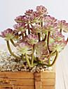 1 ramură Poliester Plastic Plante Față de masă flori Flori artificiale
