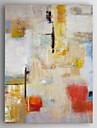Peinture a l\'huile Hang-peint Peint a la main - Abstrait Moderne Toile