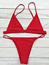 Pentru femei Bikini Mată Halter Pantaloni