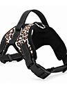 Câine Hamuri Ajustabile / Retractabil Solid Căptușit Cosplay Negru Rosu Culoare Camuflaj Leopard