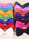 Pisici Câine Cravată/Papion Îmbrăcăminte Câini Nod Papion Trandafiriu Rosu Verde Roz Albastru Deschis Terilenă Costume Pentru animale de
